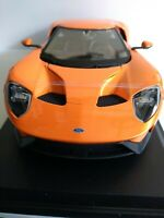 Maisto 1:18 Scale Special Edition Diecast Model- 2017 Ford GT (Orange)