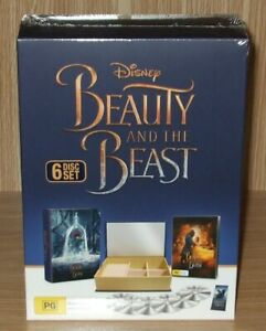 Beauty And The Beast : 4-Film Collection Blu-ray + Dvd 6-Disc Brand New & Sealed