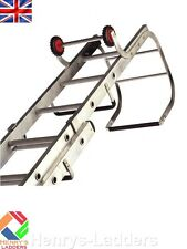 Lyte Alu Trade Roof Ladder - Double Section - 13+11 Rungs - 3.44m-5.64m   TRL235