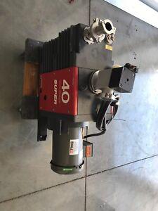 Edwards High Vacuum Pump E2M40FSPX SN 3804