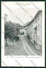 Verbania Valle Vigezzo Santa Maria Maggiore cartolina QQ5715