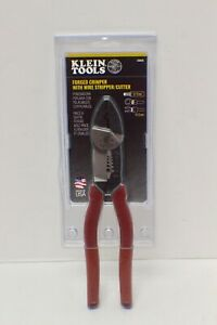KLEIN TOOLS 2005N FORGED CRIMPER WITH WIRE STRIPPER / CUTTER - NEW