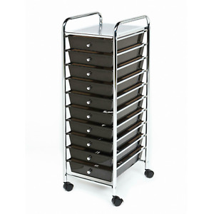 Seville Classics 10 Drawer Cart (Multiple Colors) FREE SHIPPING