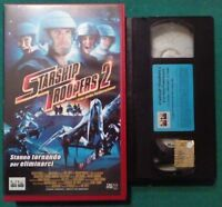 VHS FILM ita Fantascienza STARSHIP TROOPERS 2 columbia ex nolo no dvd cd lp(V64)