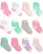 Simple Joys by Carter's Girls' 12-Pack, Pink/Purple/Mint, Size 12-24 Months