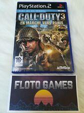 Jeu Call Of Duty 3 Paris pour Playstation 2 PS2 PAL Complet CIB - Floto Games
