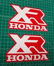 86' 1986 XR 250r xr250 2pc tank graphics decals stickers aufkleber Adhesives