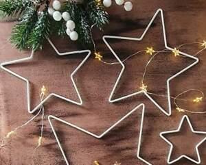 STAR Shape Metal decorative wreath frames  Christmas  decorations, accessories
