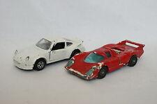 Norev et Corgi 1/43 - Lot de 2 Porsche 917 et 911