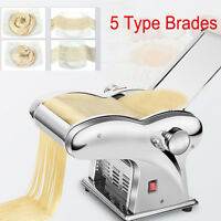220V Electric Automatic Dumpling Skin Noodles Pasta Maker Machine 5 kinds Brade