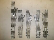 5 ATLAS NICKLE/SILVER SWITCHES FOR PARTS/REPAIR HO SCALE  (LOT 86)