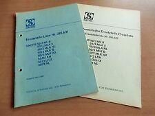 Ersatzteilliste Sachs Motoren 50/3 ML A B K X NL LKH LH 1969 auch Schaltplan KTM