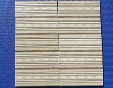 Faller AMS 4120 --  10 x Gerade 20 cm, brauner Rand, kostenloser Inlandsversand