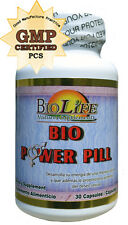 Bio Power Pill from Biolife Natural Supplements, libido and erection