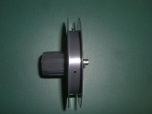 Mini Gurtscheibe Ø 85 mm für Ø 40 mm Achtkantstahlwelle