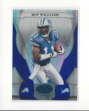 2008 Leaf Certified Mirror Blue #42 Roy Williams Lions /50