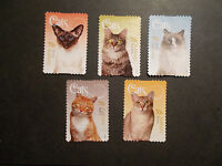 2015 Australia Self Adhesive Post Stamps~Cats~Good Used, UK Seller