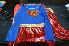 Deluxe Supergirl Superwoman Cosplay Costume Costume Taille S