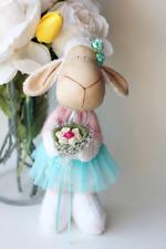 Sheep Lamb Llama Handmade stuffed toy decoration decor baby baby shower textile