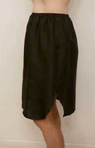 Sulis Silk pure 100% silk habotai waist slip underskirt check sizing