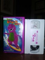 Barneys Beach Party VHS WHITE TAPE NEVER SEEN ON TV VINTAGE  FREE SHIPPING