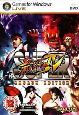 SUPER STREET FIGHTER IV ARCADE EDITION PC DVD GIOCO NUOVO VERSIONE UFFICIALE UK