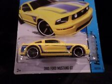 HW HOT WHEELS 2014 HW CITY #92/250 FORD MUSTANG GT HOTWHEELS YELLOW RARE VHTF