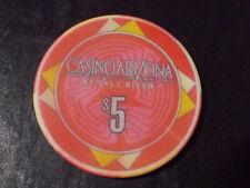 New ListingCasino Arizona At Salt River $5 casino gaming poker chip ~ Salt River, Az