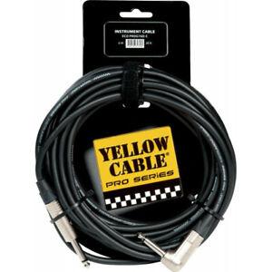 Yellow Cable PROG76D-C - Câble Jack coudé/Jack Neutrik 6m