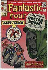 FANTASTIC FOUR #16, MARVEL 1963, ANT MAN APPEARS, VG CONDITION, RK COLLECTION