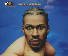 BELET BT014 1/6 Scale Allen Iverson Headplay Player Head Sculpt