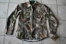 New Women's Cabela's Colorphase Camo Silent Weave Shirt Medium Zones Woodlands M
