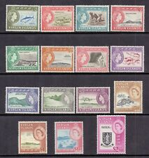 Virgin Islands 1964 SG 178-92 MM