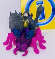 Imaginext Knight and Spider Figures Fisher-Price 2013 Complete!!