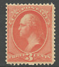 "US #214 MNH 1887 ""3c Washington"" ~ Sound & Fresh w/Rich Color....[CG]"
