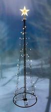LED Lichterbaum mit Stern - 120/180/240cm - Deko Weihnachtsbaum beleuchtet Außen