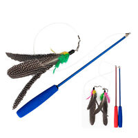 Scalable Guinea REFILLS #R Da Bird Feather Wand Cat Toy Toys Refill CAT GIFT Pip