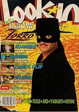 Look-In Magazine 28 July 1990     Zorro     Adamski     Fred Savage   Candy Flip