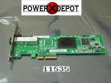 NEW PULL DELL QLOGIC QLE2460 1 PORT 4GB FIBRE CHANNEL HBA PF323