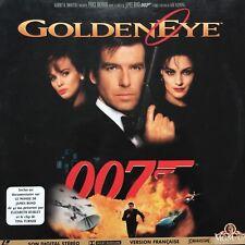 LASERDISC - GoldenEye -JAMES BOND 007 Pierce BROSNAN Famke JANSEN Ian FLEMING