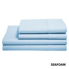 Alexei Essential 90gsm Brushed Microfiber Sheet Set Single Sea-foam