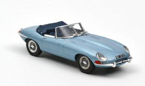 1/43 NOREV Jaguar E-Type Cabriolet 1961 Azul Metálico Nuevo Envío Casa