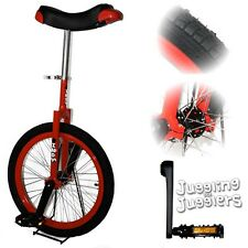 "Indy 'Freestyle' 20"" Unicycle (Red)"