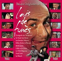 LOUIS DE FUNES - BOF  de Louis de Funès (Vol.1 & Vol.2) - 2 CD