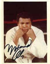 Muhammad Ali Jsa Coa Autographed 8x10 Photo  Hand Signed Authentic