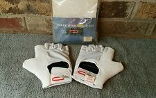 NOS Paramount Competition White Cycling Glove Vintage Schwinn XS Road