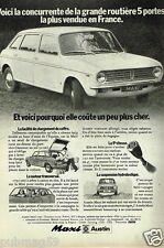 Publicité advertising 1972 Maxi Austin