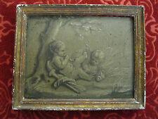 +/- 1800 Peinture Grisaille / Putti chérubin angelot / Piat Joseph Sauvage att.