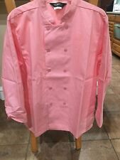 Women's 1st Quality Pink Chef Coats Sizes: Small- Large Price 9.00