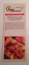D30> Cioccolato Perugina Ricetta n. 24 - Torta di mele e cioccolato